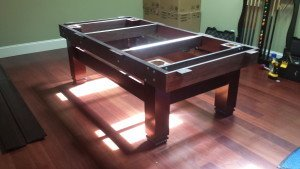 Pool and billiard table set ups and installations in Pekin Illinois