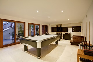 Pekin pool table room sizes image 1